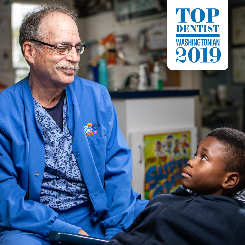 Dr. James P. Goldsmith, Washingtonian Top Dentist 2019 recipient.